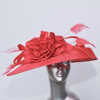 Mother of the Bride hatinator in deep raspberry 13978 /SD228/311
